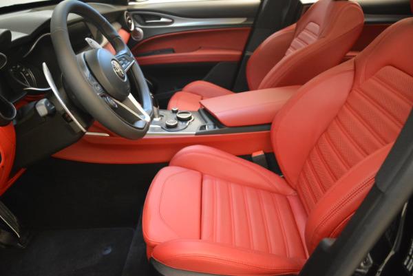 New 2018 Alfa Romeo Stelvio Ti Sport Q4 for sale Sold at Alfa Romeo of Greenwich in Greenwich CT 06830 14