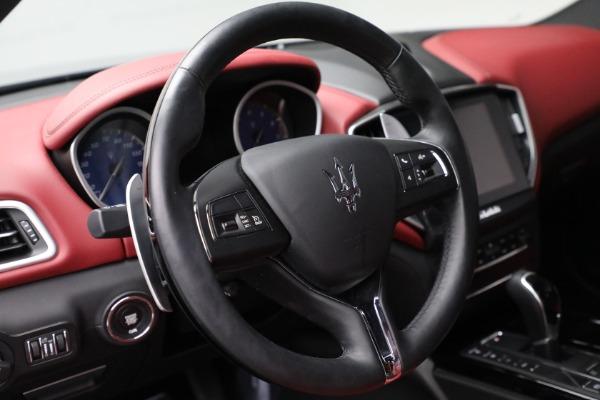 New 2018 Maserati Ghibli S Q4 GranLusso for sale Sold at Alfa Romeo of Greenwich in Greenwich CT 06830 17