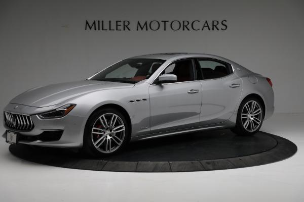 New 2018 Maserati Ghibli S Q4 GranLusso for sale Sold at Alfa Romeo of Greenwich in Greenwich CT 06830 2