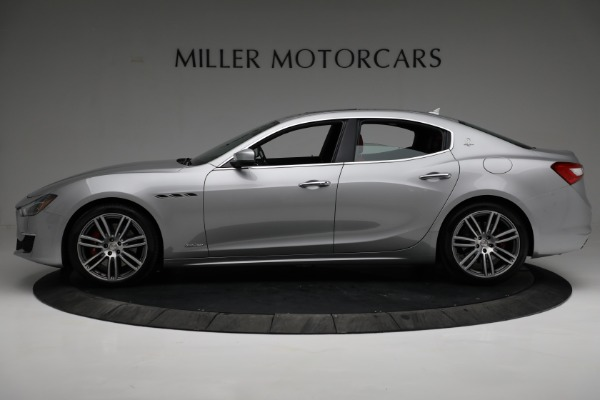 New 2018 Maserati Ghibli S Q4 GranLusso for sale Sold at Alfa Romeo of Greenwich in Greenwich CT 06830 3