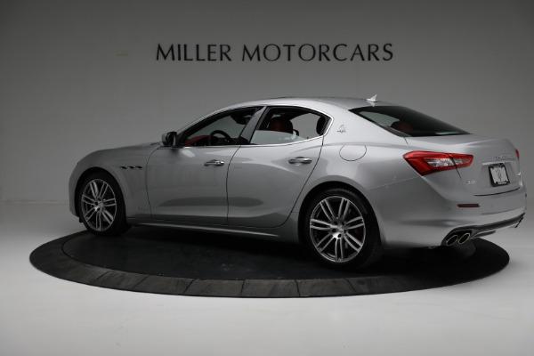 New 2018 Maserati Ghibli S Q4 GranLusso for sale Sold at Alfa Romeo of Greenwich in Greenwich CT 06830 4