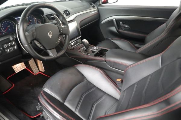 Used 2018 Maserati GranTurismo Sport for sale $94,900 at Alfa Romeo of Greenwich in Greenwich CT 06830 13
