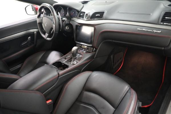Used 2018 Maserati GranTurismo Sport for sale $94,900 at Alfa Romeo of Greenwich in Greenwich CT 06830 18