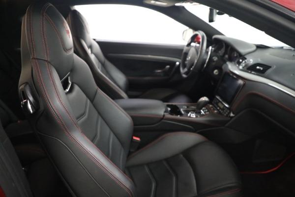 Used 2018 Maserati GranTurismo Sport for sale $94,900 at Alfa Romeo of Greenwich in Greenwich CT 06830 19