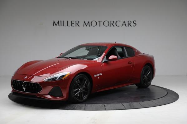 Used 2018 Maserati GranTurismo Sport for sale $94,900 at Alfa Romeo of Greenwich in Greenwich CT 06830 2