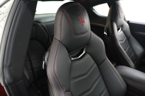 Used 2018 Maserati GranTurismo Sport for sale $94,900 at Alfa Romeo of Greenwich in Greenwich CT 06830 20