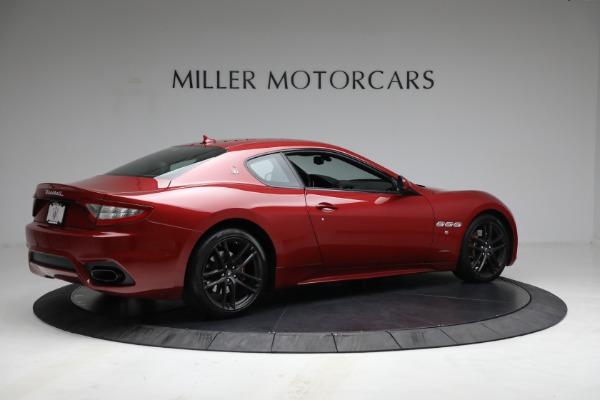 Used 2018 Maserati GranTurismo Sport for sale $94,900 at Alfa Romeo of Greenwich in Greenwich CT 06830 8