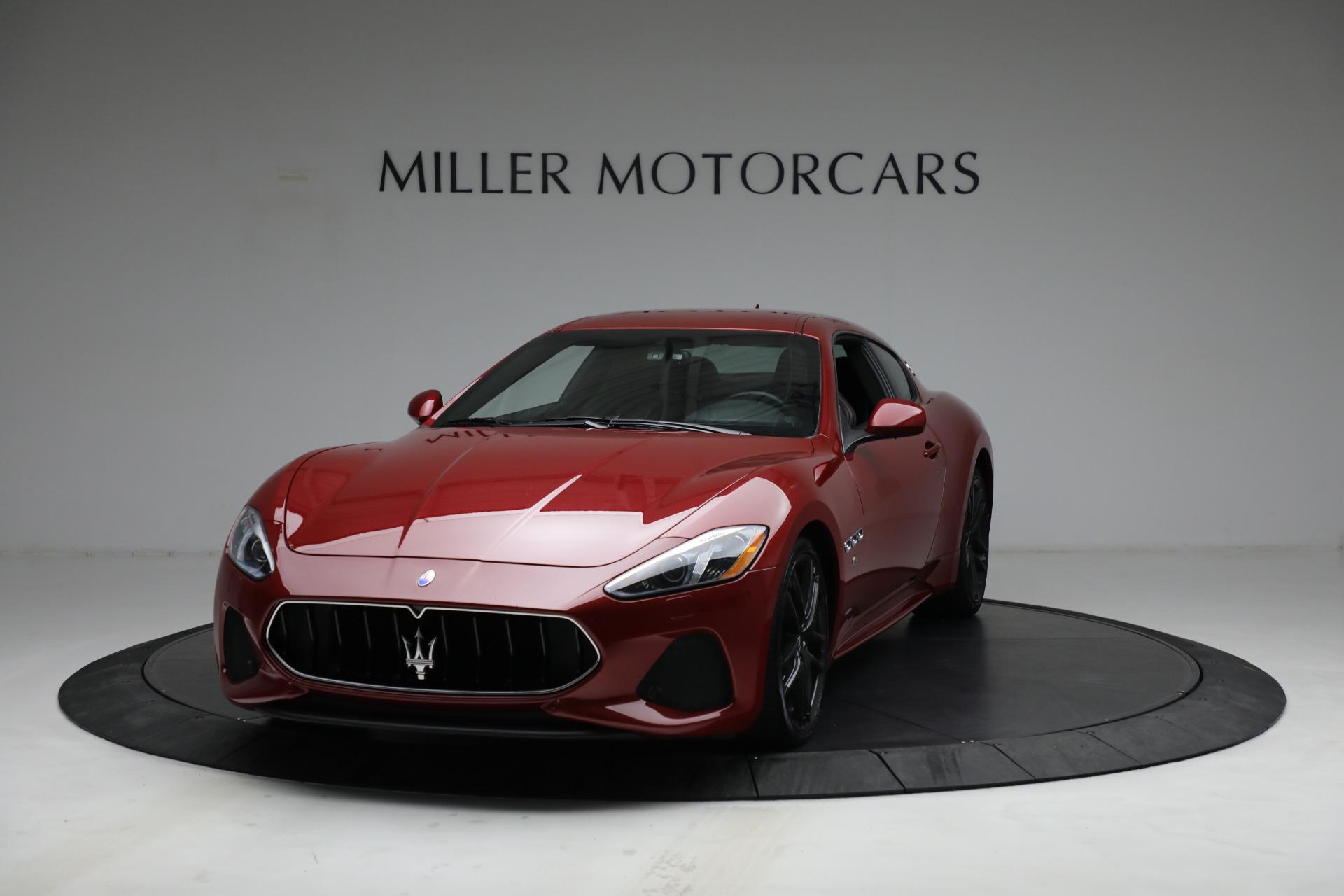 Used 2018 Maserati GranTurismo Sport for sale $94,900 at Alfa Romeo of Greenwich in Greenwich CT 06830 1