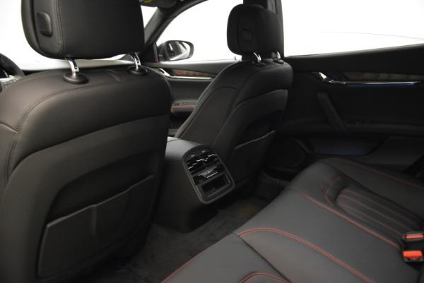 Used 2018 Maserati Quattroporte S Q4 GranLusso for sale Sold at Alfa Romeo of Greenwich in Greenwich CT 06830 19