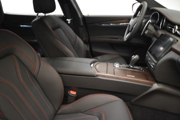 Used 2018 Maserati Quattroporte S Q4 GranLusso for sale Sold at Alfa Romeo of Greenwich in Greenwich CT 06830 21