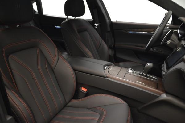 Used 2018 Maserati Quattroporte S Q4 GranLusso for sale Sold at Alfa Romeo of Greenwich in Greenwich CT 06830 22