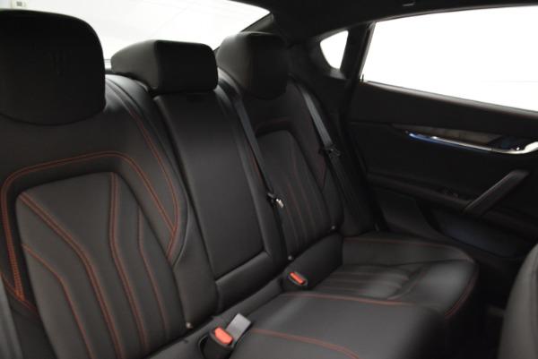 Used 2018 Maserati Quattroporte S Q4 GranLusso for sale Sold at Alfa Romeo of Greenwich in Greenwich CT 06830 25