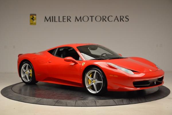 Used 2012 Ferrari 458 Italia for sale Sold at Alfa Romeo of Greenwich in Greenwich CT 06830 10