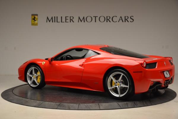 Used 2012 Ferrari 458 Italia for sale Sold at Alfa Romeo of Greenwich in Greenwich CT 06830 4