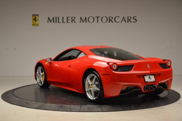 Used 2012 Ferrari 458 Italia for sale Sold at Alfa Romeo of Greenwich in Greenwich CT 06830 5