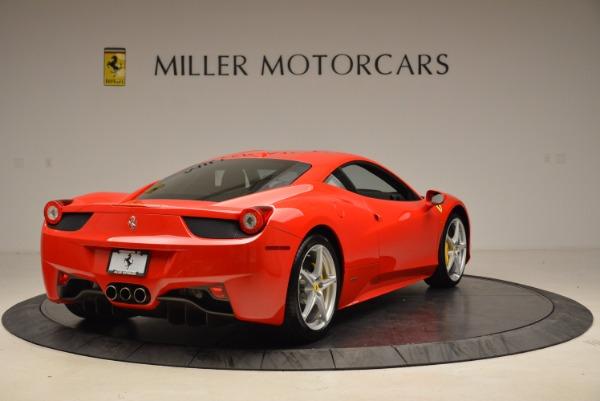 Used 2012 Ferrari 458 Italia for sale Sold at Alfa Romeo of Greenwich in Greenwich CT 06830 7