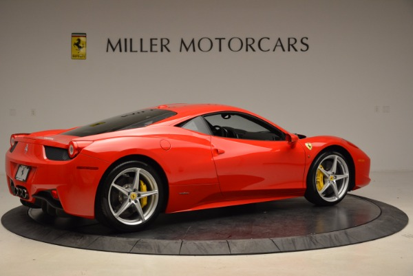Used 2012 Ferrari 458 Italia for sale Sold at Alfa Romeo of Greenwich in Greenwich CT 06830 8