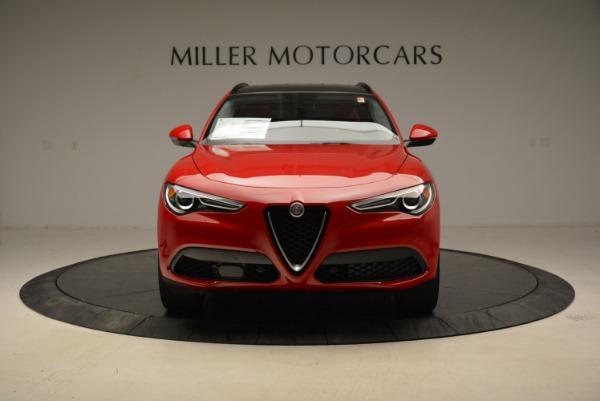 New 2018 Alfa Romeo Stelvio Sport Q4 for sale Sold at Alfa Romeo of Greenwich in Greenwich CT 06830 12