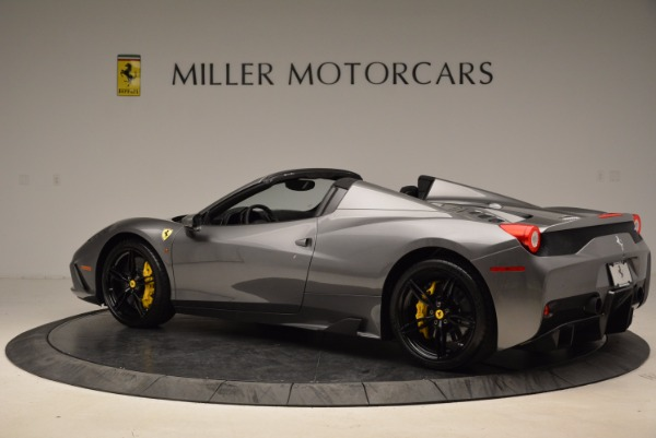 Used 2015 Ferrari 458 Speciale Aperta for sale Sold at Alfa Romeo of Greenwich in Greenwich CT 06830 4