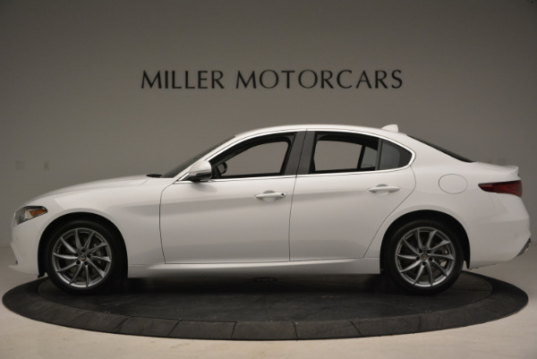 New 2018 Alfa Romeo Giulia Q4 for sale Sold at Alfa Romeo of Greenwich in Greenwich CT 06830 3
