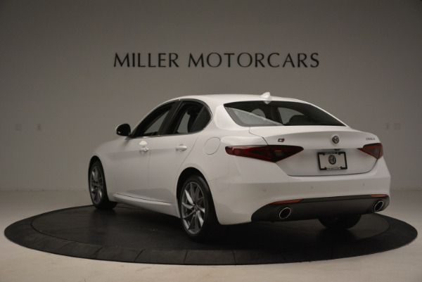 New 2018 Alfa Romeo Giulia Q4 for sale Sold at Alfa Romeo of Greenwich in Greenwich CT 06830 5