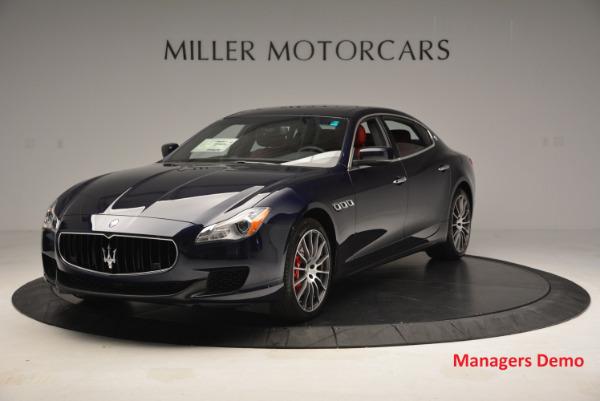 New 2016 Maserati Quattroporte S Q4  *******      DEALER'S  DEMO for sale Sold at Alfa Romeo of Greenwich in Greenwich CT 06830 1