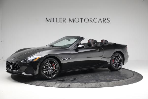 New 2018 Maserati GranTurismo Sport Convertible for sale Sold at Alfa Romeo of Greenwich in Greenwich CT 06830 2