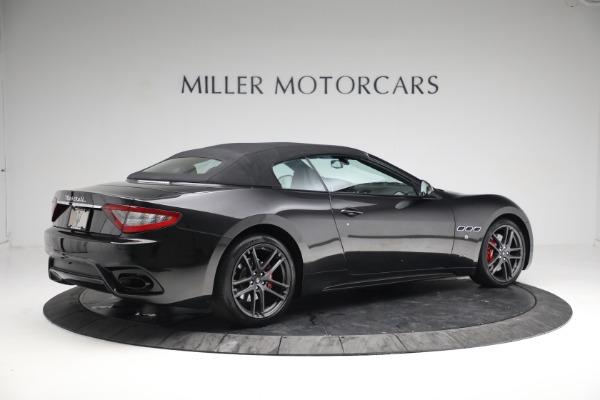 New 2018 Maserati GranTurismo Sport Convertible for sale Sold at Alfa Romeo of Greenwich in Greenwich CT 06830 20