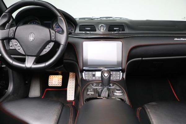 New 2018 Maserati GranTurismo Sport Convertible for sale Sold at Alfa Romeo of Greenwich in Greenwich CT 06830 28