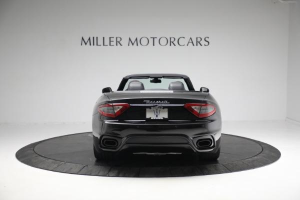 New 2018 Maserati GranTurismo Sport Convertible for sale Sold at Alfa Romeo of Greenwich in Greenwich CT 06830 6