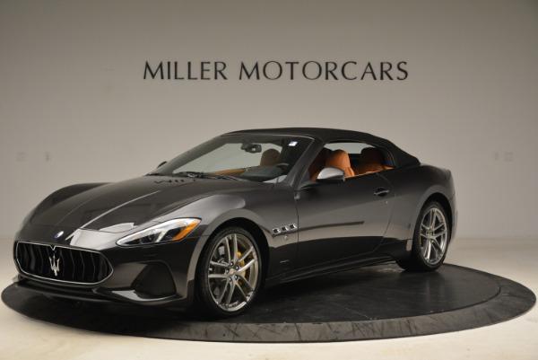 Used 2018 Maserati GranTurismo Sport Convertible for sale Sold at Alfa Romeo of Greenwich in Greenwich CT 06830 12