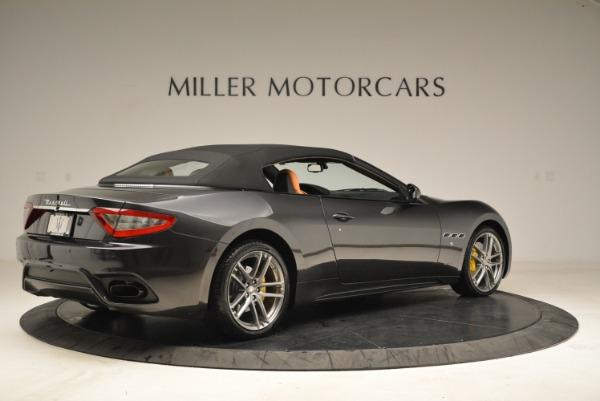 Used 2018 Maserati GranTurismo Sport Convertible for sale Sold at Alfa Romeo of Greenwich in Greenwich CT 06830 18