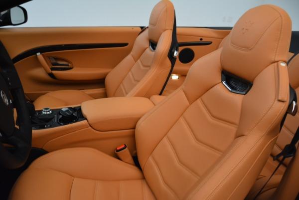 Used 2018 Maserati GranTurismo Sport Convertible for sale Sold at Alfa Romeo of Greenwich in Greenwich CT 06830 25