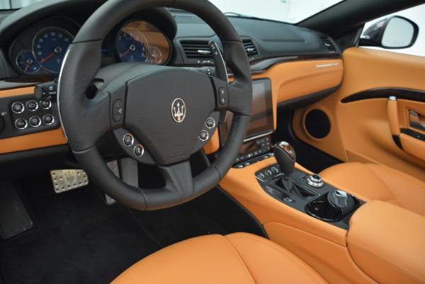 Used 2018 Maserati GranTurismo Sport Convertible for sale Sold at Alfa Romeo of Greenwich in Greenwich CT 06830 26