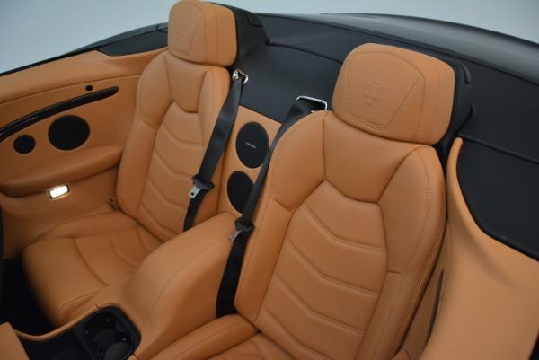Used 2018 Maserati GranTurismo Sport Convertible for sale Sold at Alfa Romeo of Greenwich in Greenwich CT 06830 28