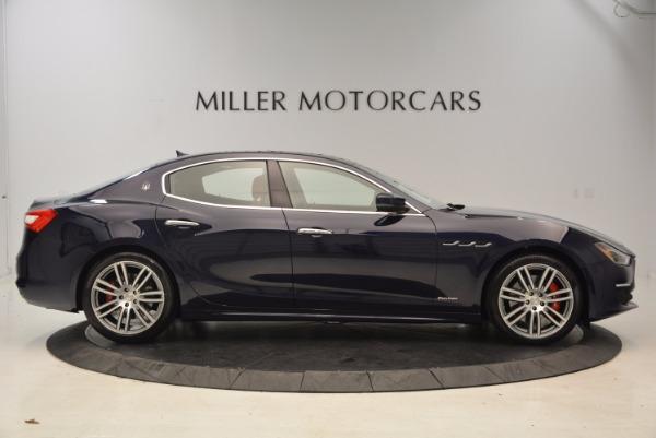 New 2018 Maserati Ghibli S Q4 GranLusso for sale Sold at Alfa Romeo of Greenwich in Greenwich CT 06830 9