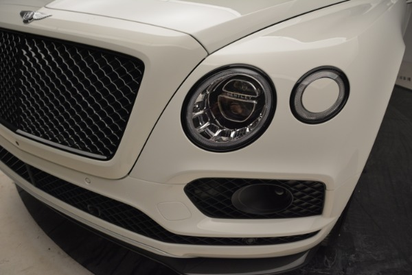 New 2018 Bentley Bentayga Black Edition for sale Sold at Alfa Romeo of Greenwich in Greenwich CT 06830 15