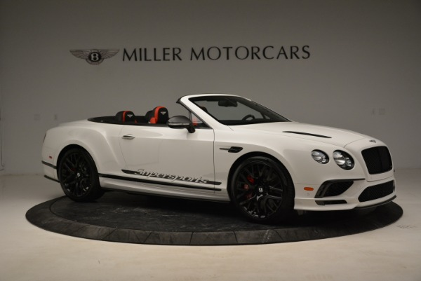 Used 2018 Bentley Continental GTC Supersports Convertible for sale Sold at Alfa Romeo of Greenwich in Greenwich CT 06830 10