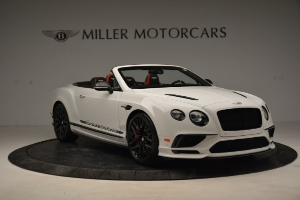 Used 2018 Bentley Continental GTC Supersports Convertible for sale Sold at Alfa Romeo of Greenwich in Greenwich CT 06830 11