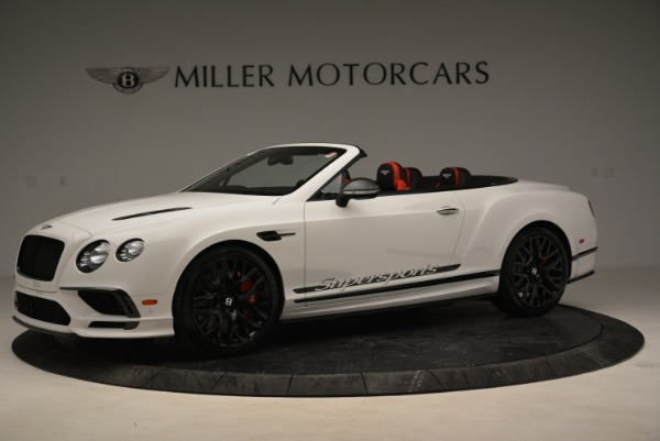 Used 2018 Bentley Continental GTC Supersports Convertible for sale Sold at Alfa Romeo of Greenwich in Greenwich CT 06830 2