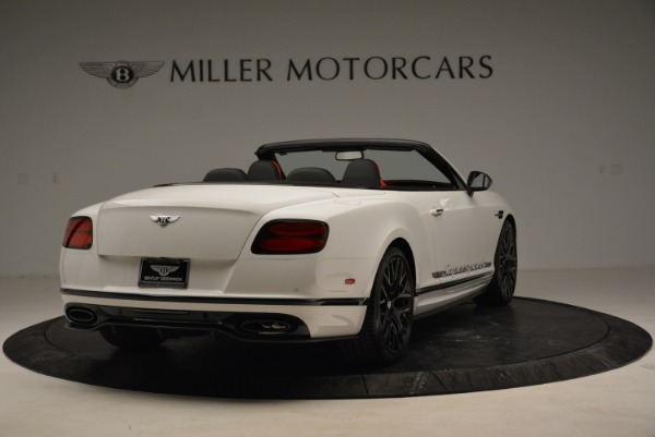 Used 2018 Bentley Continental GTC Supersports Convertible for sale Sold at Alfa Romeo of Greenwich in Greenwich CT 06830 7
