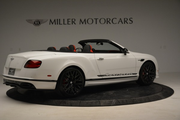 Used 2018 Bentley Continental GTC Supersports Convertible for sale Sold at Alfa Romeo of Greenwich in Greenwich CT 06830 8
