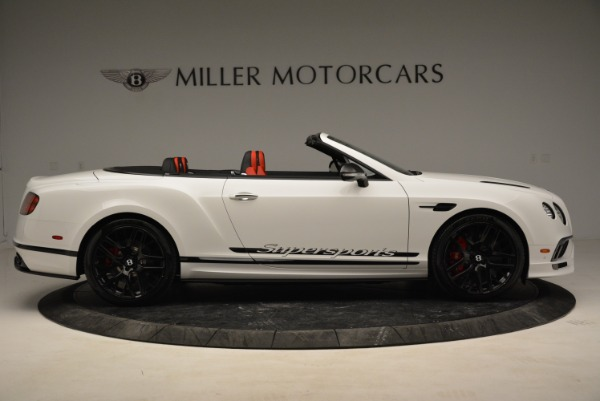 Used 2018 Bentley Continental GTC Supersports Convertible for sale Sold at Alfa Romeo of Greenwich in Greenwich CT 06830 9