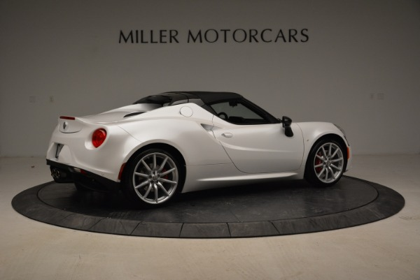 New 2018 Alfa Romeo 4C Spider for sale Sold at Alfa Romeo of Greenwich in Greenwich CT 06830 11