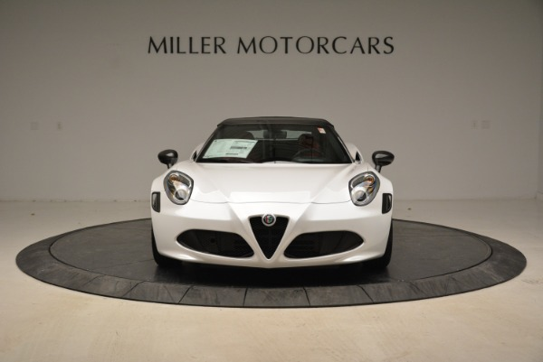 New 2018 Alfa Romeo 4C Spider for sale Sold at Alfa Romeo of Greenwich in Greenwich CT 06830 18