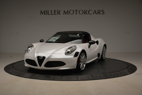 New 2018 Alfa Romeo 4C Spider for sale Sold at Alfa Romeo of Greenwich in Greenwich CT 06830 1
