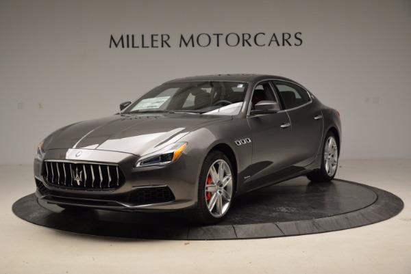 New 2018 Maserati Quattroporte S Q4 GranLusso for sale Sold at Alfa Romeo of Greenwich in Greenwich CT 06830 1
