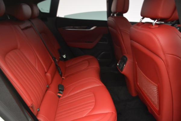 New 2018 Maserati Levante Q4 GranLusso for sale Sold at Alfa Romeo of Greenwich in Greenwich CT 06830 21