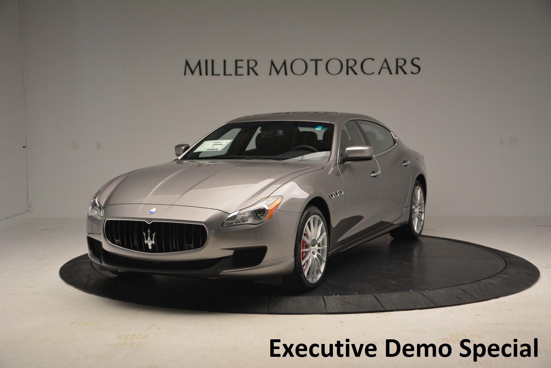 New 2016 Maserati Quattroporte S Q4 for sale Sold at Alfa Romeo of Greenwich in Greenwich CT 06830 1