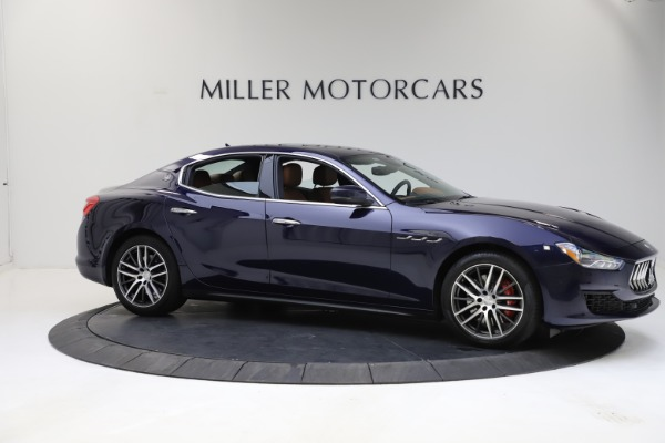 Used 2018 Maserati Ghibli S Q4 for sale Sold at Alfa Romeo of Greenwich in Greenwich CT 06830 10